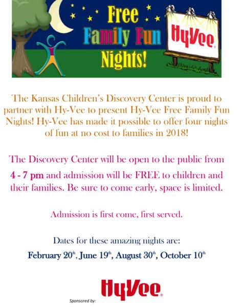 Hy-Vee Free Family Fun Night