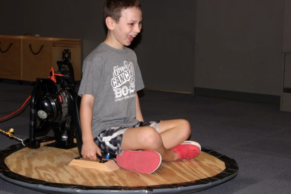 Snowfest: Hovercraft @ Kansas Children's Discovery Center