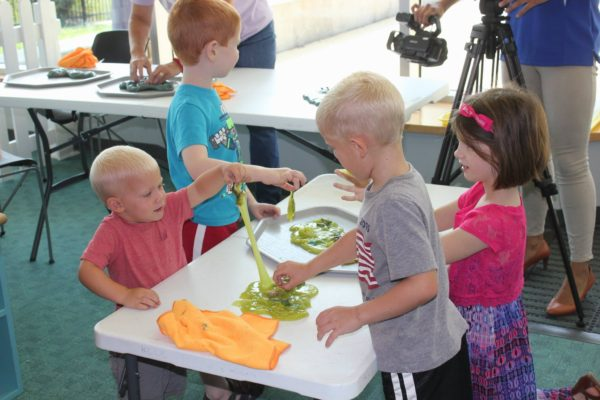 Planet Party Week: Playdough Planets @ Kansas Children's Discovery Center