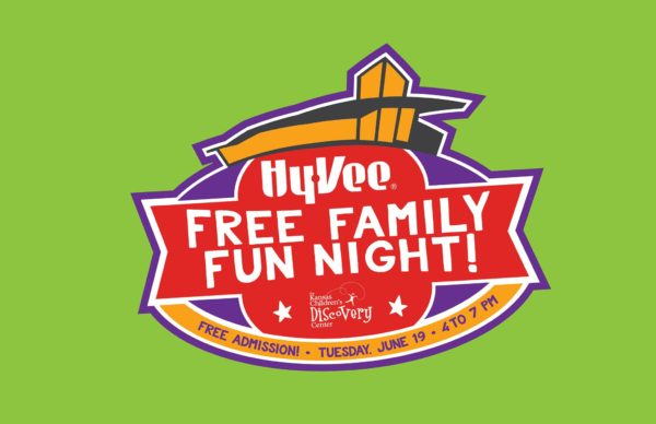 August Hy-Vee Free Family Fun Night @ Kansas Children's Discovery Center | Topeka | Kansas | United States