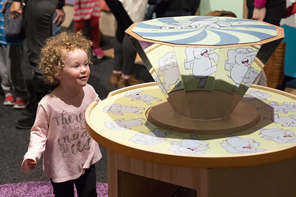 Make a Bookmark and Build a Trunk @ Kansas Children's Discovery Center