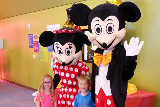 Birthday Party with Mickey and Minnie Mouse sponsored by Hill's Pet Nutrition @ Kansas Children's Discovery Center
