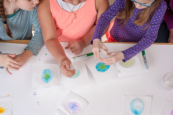 STEAM Saturday: Art Chromatography @ Kansas Children's Discovery Center