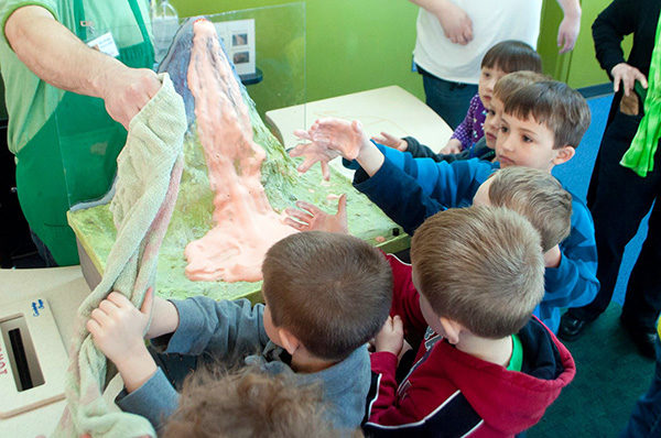 STEAM Saturday: Volcano Eruptions! @ Kansas Children's Discovery Center