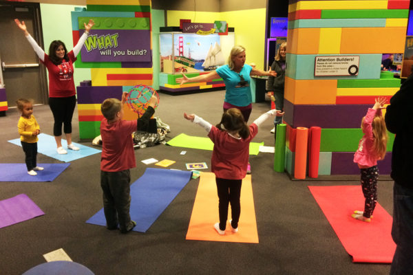 Family Fitness Saturday: Yoga @ Kansas Children's Discovery Center