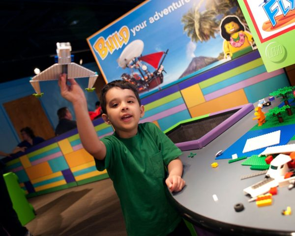 Make a Wind Racer with LEGO® Bricks sponsored by Bartlett & West @ Kansas Children's Discovery Center
