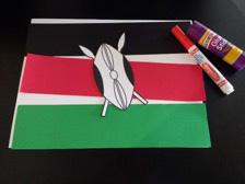 Kenya's Kids: Make a Kenyan Flag @ Kansas Children's Discovery Center