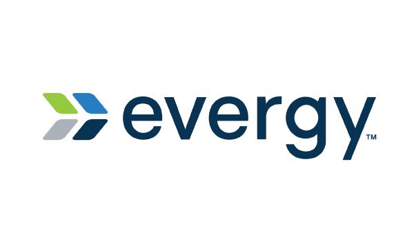 Logo for Evergy electric company