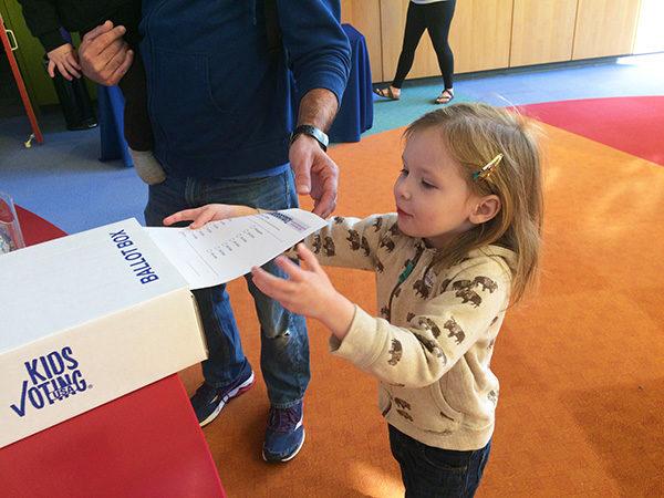 Kids Vote Election Day @ Kansas Children's Discovery Center