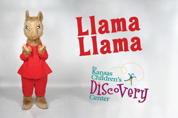 Meet Llama Llama! @ Kansas Children's Discovery Center