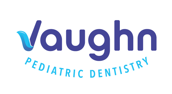 Vaughn Pediatric dentistry on a white background