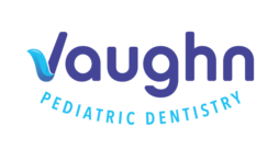 Logo for Vaughn Pediatric Dentistry on a white background
