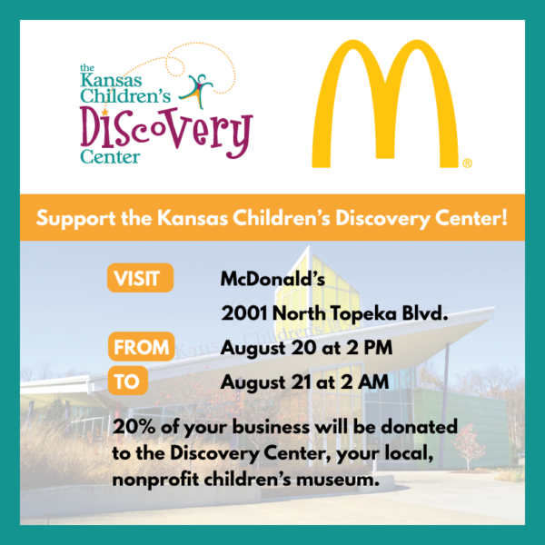 North Topeka McDonald's Fundraiser @ McDonald's