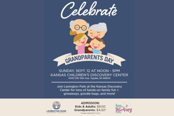Grandparents Day Celebration @ The Kansas Children's Discovery Center
