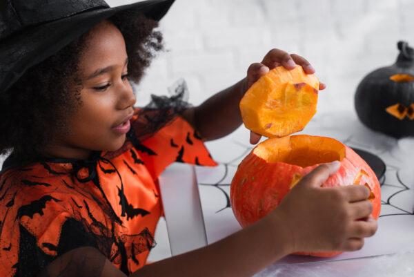 Spooky Science: Pumpkin Dissection! @ Kansas Children's Discovery Center